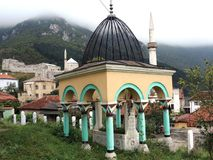 Sepultura do turco de Travnik Fotografia de Stock Royalty Free