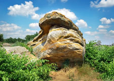 A sepultura ou Rocky Mound Kamena Mohyla de pedra Imagens de Stock Royalty Free