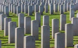 Sepulturas canadenses da guerra Foto de Stock Royalty Free