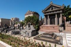Sepulturas de Rio de janeiro Cemetery Fotografia de Stock Royalty Free