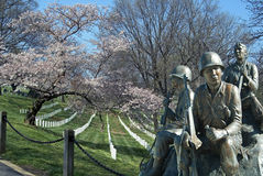 Sepulturas e memorial da guerra Imagens de Stock Royalty Free