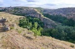 Sepulveda, Segovia, Spanien Stockfoto