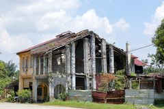 Abandoned old building Royalty Free Stock Image