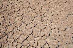 Sequía agrietada de la tierra Imágenes de archivo libres de regalías
