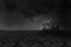 Sequía de la zona desértica de la Gran Depresión Foto de archivo