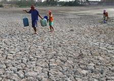 Sequía en Indonesia Imagen de archivo