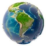 Sequía en la tierra del planeta Imágenes de archivo libres de regalías