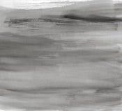 Seque a aquarela preta escovada ilustração do vetor