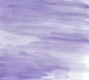 Seque a aquarela roxa escovada ilustração royalty free