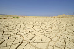 Seque el desierto en la región del Mar Rojo, foto de archivo libre de regalías