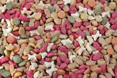 Seque la alimentación para los animales domésticos Imagen de archivo libre de regalías