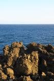 Seque Lava Rocks endurecido fotos de stock