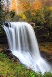 Seque quedas Cullasaja Nantahala Forest Highlands NC fotos de stock