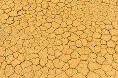 Seque a textura da terra da quebra Fotos de Stock