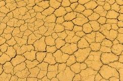 Seque a textura da terra da quebra Imagem de Stock