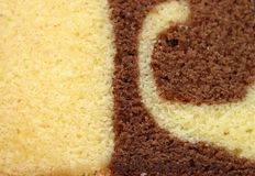 Seque a textura do bolo Foto de Stock