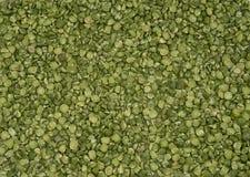 Seque textura rachada das ervilhas verdes foto de stock royalty free