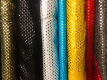 Sequence Fabrics Stock Photo