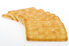 Sequential biscuits. Biscuits, tea and milk with good eatable. Standing in a sequential manner and biscuits Stock Image