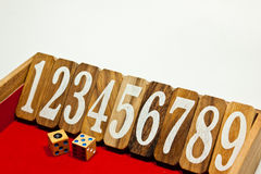 Sequential number Stock Photography