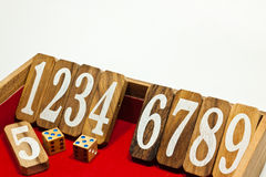 Sequential number Royalty Free Stock Photo