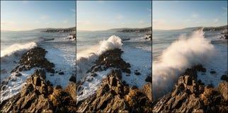 Sequenza degli effetti dell'onda Immagine Stock