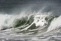 Sequenza della rottura della spiaggia Fotografia Stock Libera da Diritti