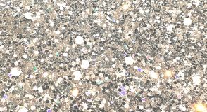 Sequin fabric background textrue. Sparkling stock photo