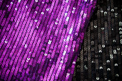 Sequin fabrics Royalty Free Stock Photo