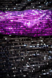 Sequin fabrics royalty free stock image