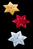 Sequin stars Stock Photography