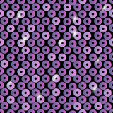 Sequins seamless pattern. Abstract background with lilac color. Texture scales of round sequins with color transition. Vector. Illustration Royalty Free Stock Images