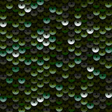 Sequins. Seamless Pattern. Stock Image
