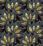 Sequins Seamless Pattern. Vector Background. Vector Seamless Pattern. Sequins and Beads Stock Image