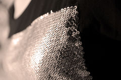 Sequins shirt Royalty Free Stock Photography