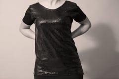 Sequins shirt Stock Image