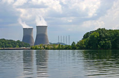 Sequoyah Nuclear Plant Fotos de Stock Royalty Free