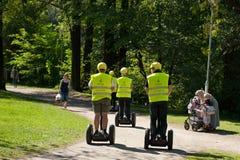 seqway γύρος ηλιοφάνειας Στοκ εικόνες με δικαίωμα ελεύθερης χρήσης