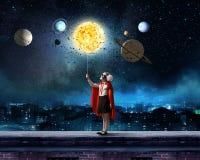 Seré astronauta imagen de archivo libre de regalías