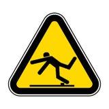 Ser cuidadoso o isolado do símbolo do perigo da viagem no fundo branco, ilustração EPS do vetor 10 ilustração royalty free