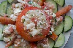 ser faszerujący pomidory Zdjęcia Stock