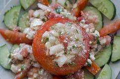ser faszerujący pomidory Zdjęcie Stock
