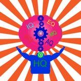 Ser humano Brain Health Imágenes de archivo libres de regalías