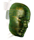 ser humano de 3D Digitaces Imagen de archivo libre de regalías