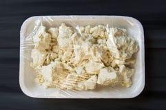 Ser, indyczy specjalny ser, cedziny, pakował ser, upakowani serów obrazki Zdjęcie Royalty Free