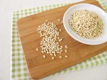 Süßer mochi Reis Stockfoto