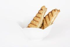 ser piec na grillu kanapka Zdjęcie Stock