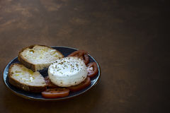 Ser, pomidory i Oregano, Obrazy Royalty Free