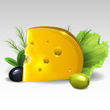 ser zawiera ilustracyjnego siatki oliwek wektor royalty ilustracja