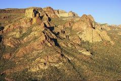 Sera al canyon dell'insenatura dei pesci in Arizona Fotografia Stock Libera da Diritti